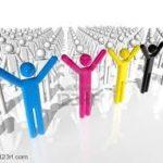 ¿Te rodeas de gente o de personas?