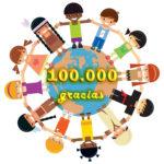 Sumando Cliks mas de 100.000