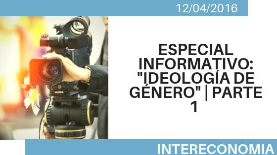 Ideal de género – Especial informativos