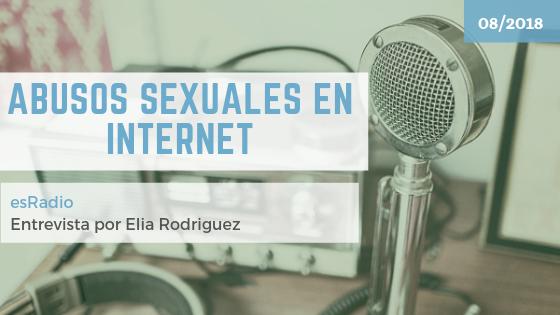 Abusos sexuales en internet