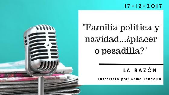 Familia política y navidad… ¿placer o pesadilla?
